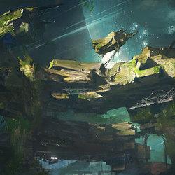 外星球建筑遗迹