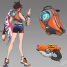 Tracer - track and field skin concept
