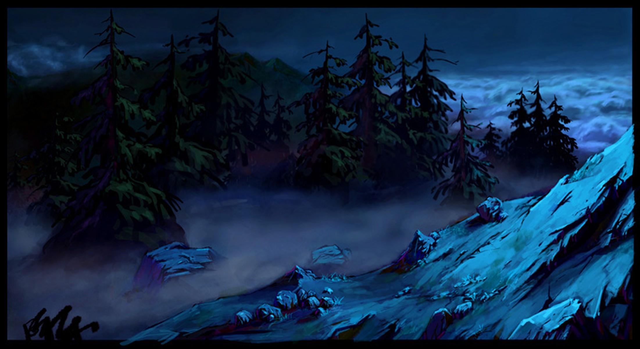 黑暗森林图片