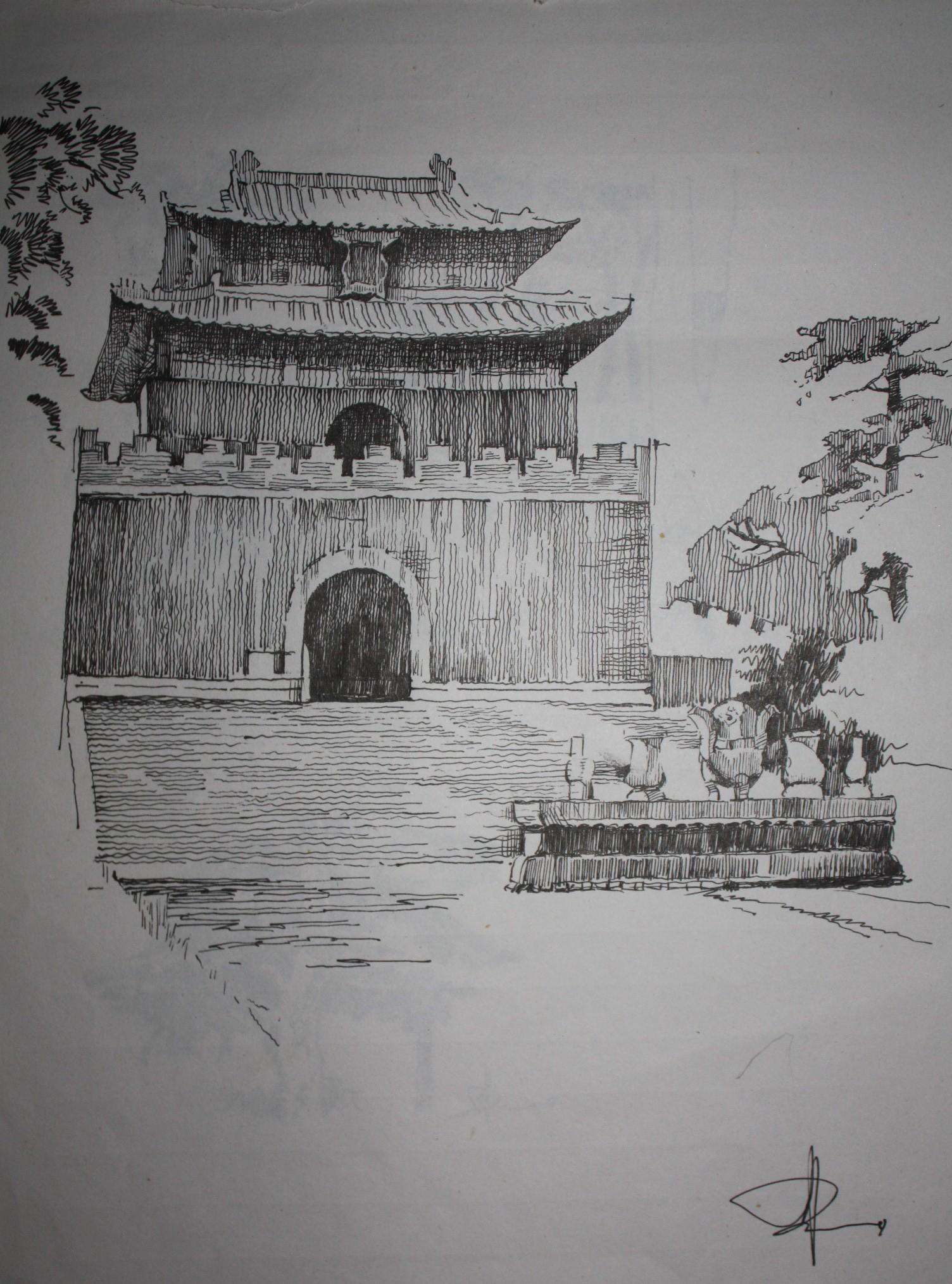 钢笔画~15 由 zhouziheng