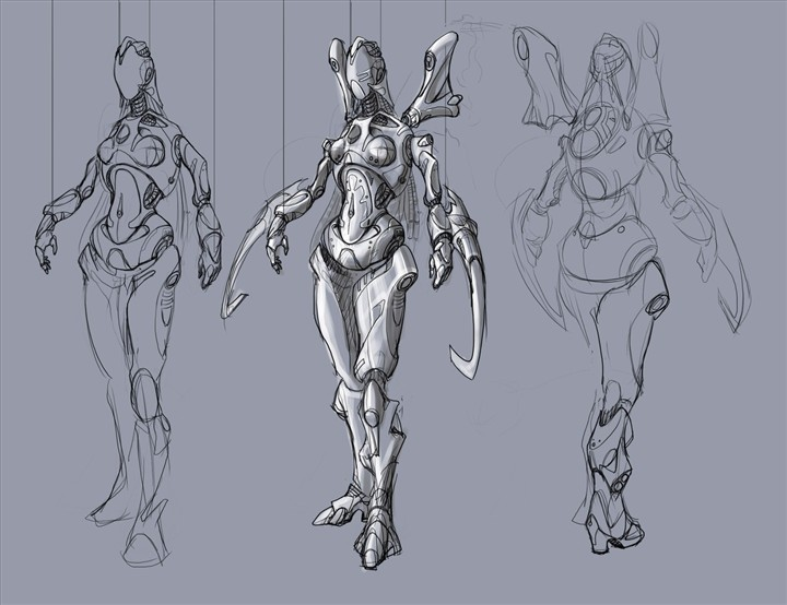 母机器人 由 乳猪门 创作 | 乐艺leewiART CG精英艺术社区,汇聚优秀CG艺术作品