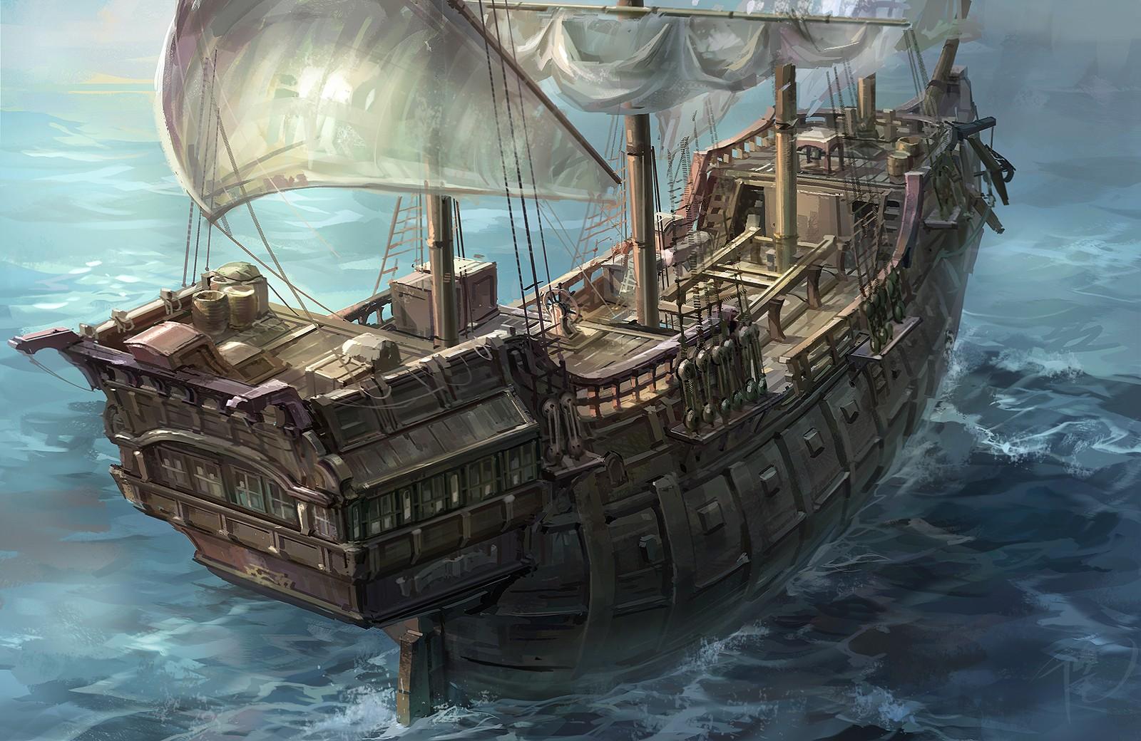 加勒比海盗_大商船
