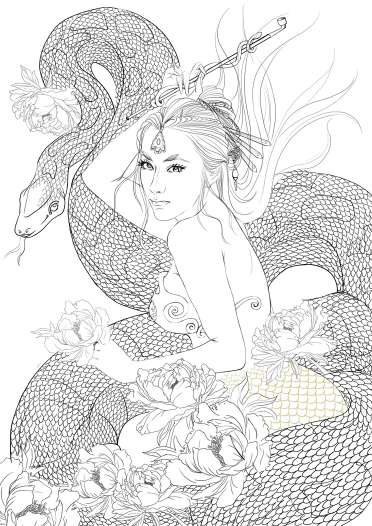 蛇——鬼魅