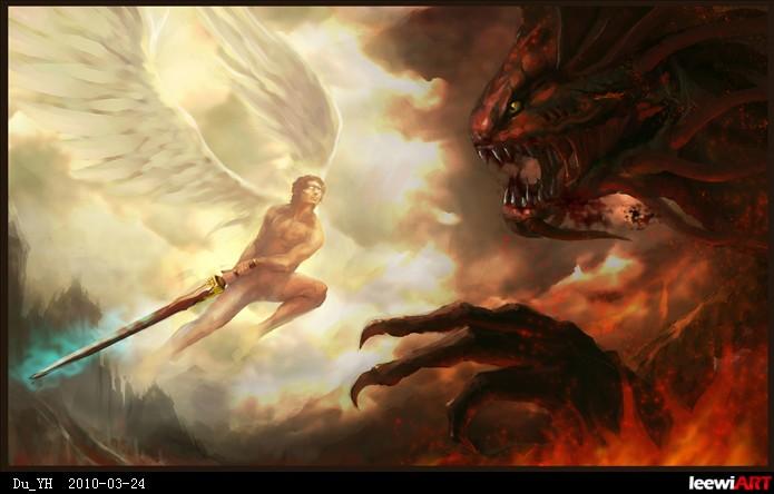 【撒旦圣经:路西法将耶稣拉入凡_纹身图案