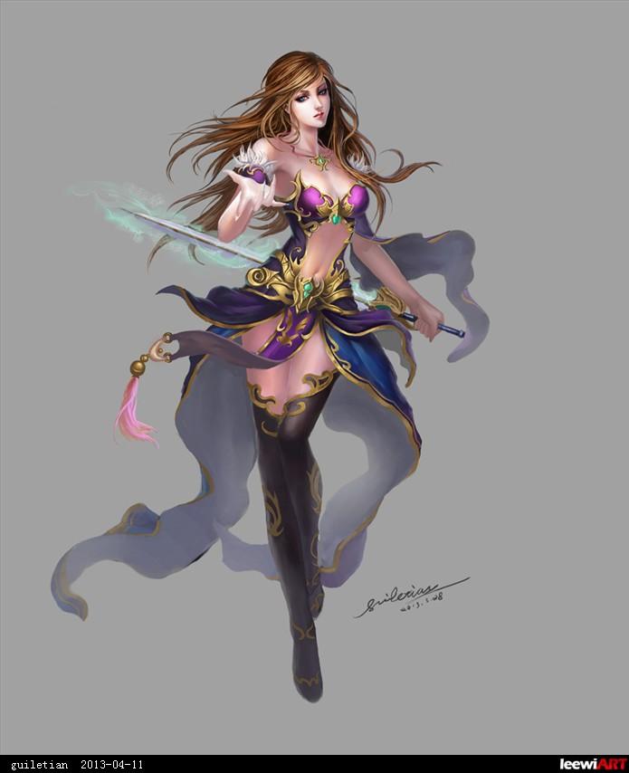 剑女by guiletian