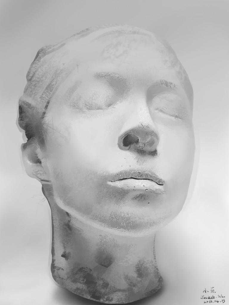 头像石膏素描