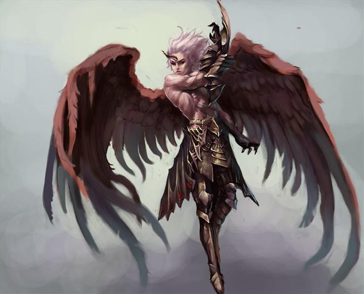 picsart素材暗黑翅膀