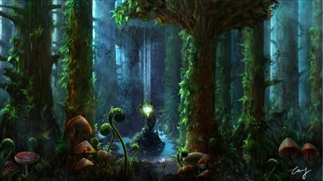 森林场景cg分享展示
