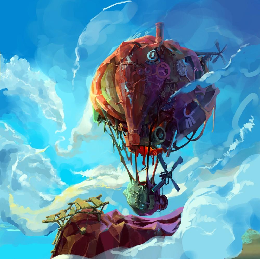长条气球蜗牛造型教程图解