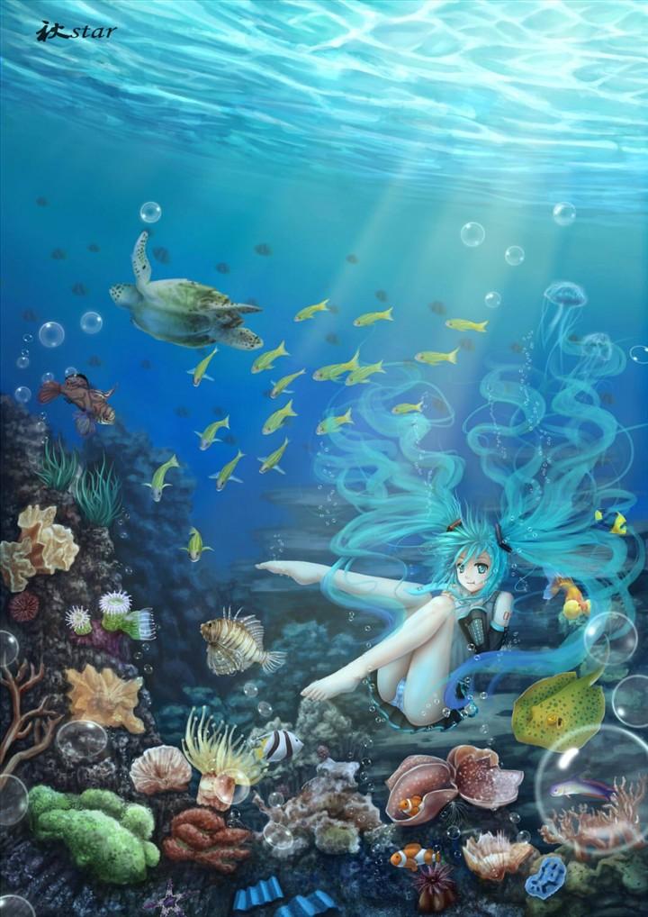 壁纸 海底 海底世界 海洋馆 水族馆 桌面 720_1018 竖版 竖屏 手机