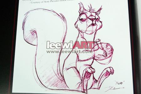 他在动物绘画和设计方面的造诣为他在他曾执教的学校